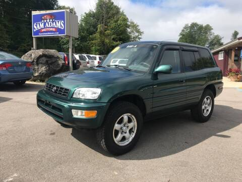 2000 Toyota RAV4 for sale at Sam Adams Motors in Cedar Springs MI