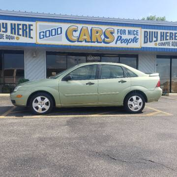 2007 Ford Focus for sale at Good Cars 4 Nice People in Omaha NE