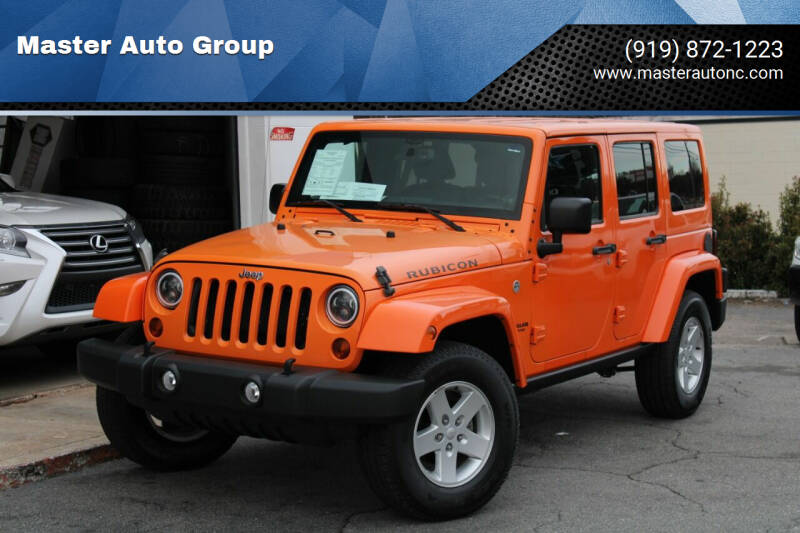 2013 Jeep Wrangler Unlimited for sale at Master Auto Group in Raleigh NC