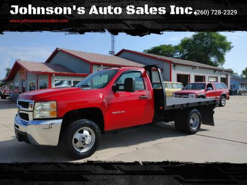 2010 Chevrolet Silverado 3500HD for sale at Johnson's Auto Sales Inc. in Decatur IN