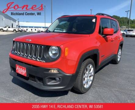 2017 Jeep Renegade for sale at Jones Chevrolet Buick Cadillac in Richland Center WI