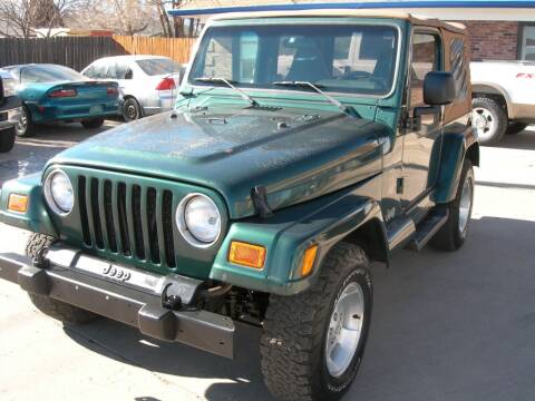 2001 Jeep Wrangler for sale at Springs Auto Sales in Colorado Springs CO