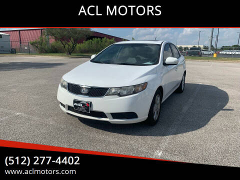 2010 Kia Forte for sale at ACL MOTORS in Austin TX