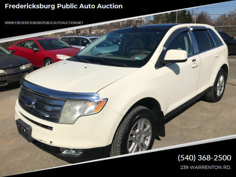 2007 Ford Edge for sale at FPAA in Fredericksburg VA
