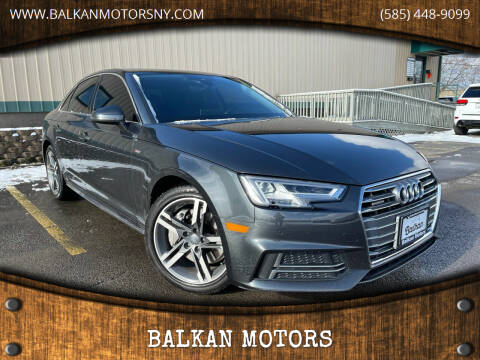 2017 Audi A4 for sale at BALKAN MOTORS in East Rochester NY