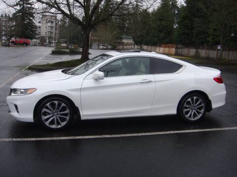2015 Honda Accord for sale at Western Auto Brokers in Lynnwood WA