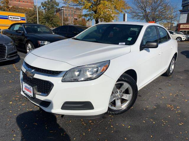 2014 Chevrolet Malibu for sale at Sonias Auto Sales in Worcester MA