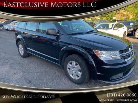 2012 Dodge Journey for sale at Eastclusive Motors LLC in Hasbrouck Heights NJ
