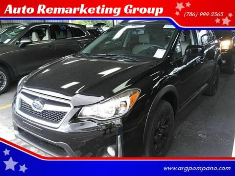 2016 Subaru Crosstrek for sale at Auto Remarketing Group in Pompano Beach FL