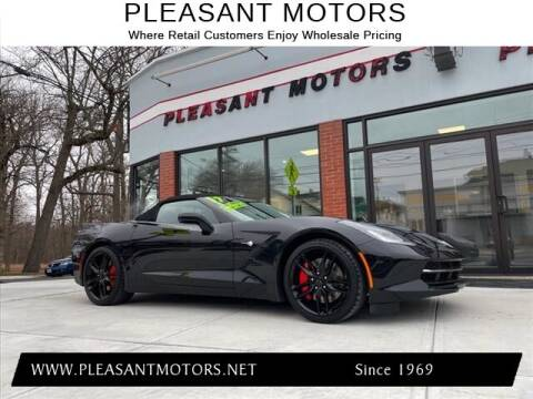 2017 Chevrolet Corvette for sale at Pleasant Motors in New Bedford MA