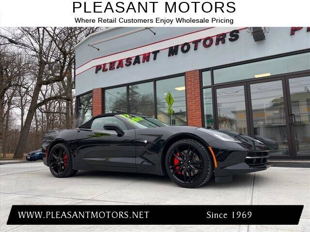 2017 Chevrolet Corvette for sale at Pleasant Motors in New Bedford MA