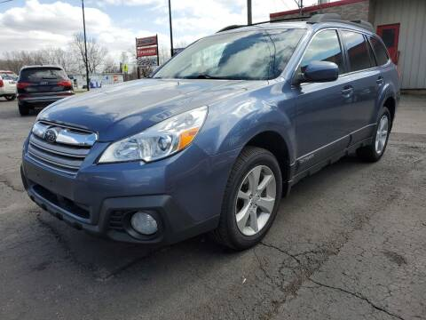 2014 Subaru Outback for sale at Drive Motor Sales in Ionia MI