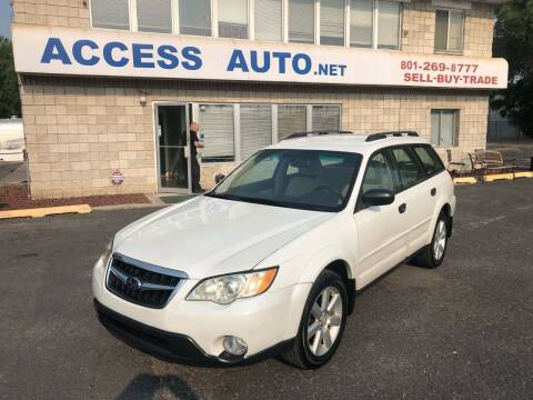 2008 Subaru Outback for sale at Access Auto in Salt Lake City UT