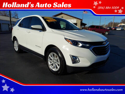 2018 Chevrolet Equinox for sale at Holland's Auto Sales in Harrisonville MO