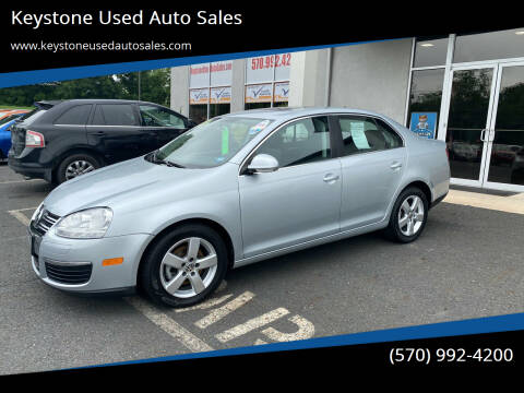 2008 Volkswagen Jetta for sale at Keystone Used Auto Sales in Brodheadsville PA