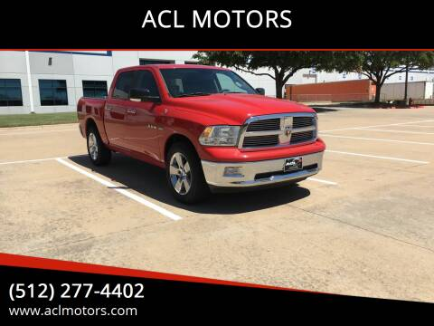 2010 Dodge Ram Pickup 1500 for sale at ACL MOTORS in Austin TX