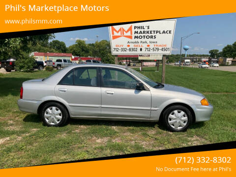 2000 Mazda Protege for sale at Phil's Marketplace Motors in Arnolds Park IA