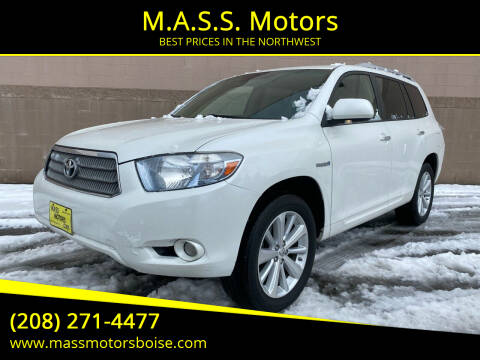 2009 Toyota Highlander Hybrid for sale at M.A.S.S. Motors in Boise ID