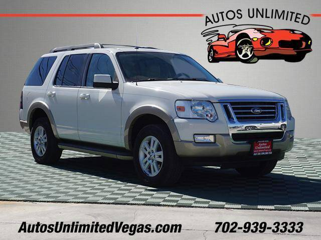2010 Ford Explorer for sale at Autos Unlimited in Las Vegas NV