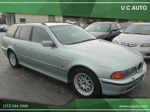 2000 BMW 5 Series for sale at U C AUTO in Urbana IL