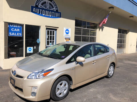 2010 Toyota Prius for sale at HUDSON ROAD AUTOMOTIVE in Stow MA