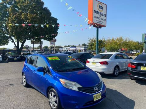 2014 Nissan Versa Note for sale at TDI AUTO SALES in Boise ID