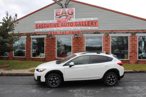 2018 Subaru Crosstrek for sale at EXECUTIVE AUTO GALLERY INC in Walnutport PA