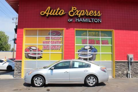 2010 Nissan Altima for sale at AUTO EXPRESS OF HAMILTON LLC in Hamilton OH