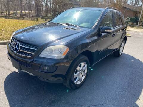 2007 Mercedes-Benz M-Class for sale at Bowie Motor Co in Bowie MD