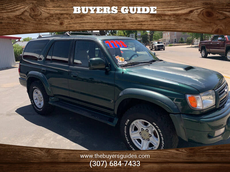 2000 Toyota 4Runner for sale in Buffalo, WY