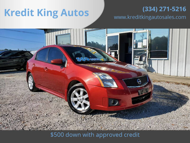 2010 Nissan Sentra for sale at Kredit King Autos in Montgomery AL