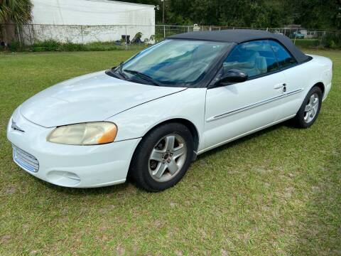 2002 Chrysler Sebring for sale at Massey Auto Sales in Mulberry FL