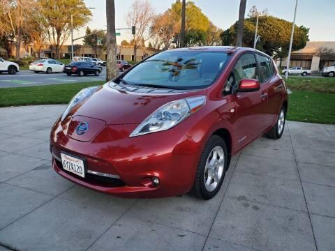 2012 Nissan LEAF for sale at Top Motors in San Jose CA