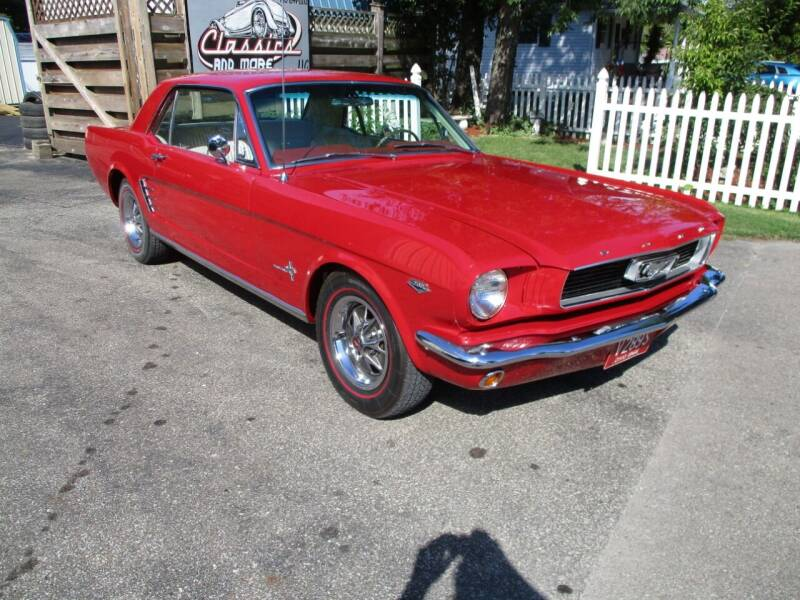 1966 Ford Mustang for sale at Classics and More LLC in Roseville OH