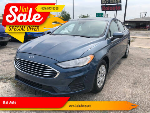 2019 Ford Fusion for sale at Ital Auto in Oklahoma City OK