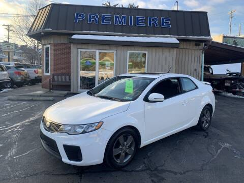 2012 Kia Forte Koup for sale at Premiere Auto Sales in Washington PA