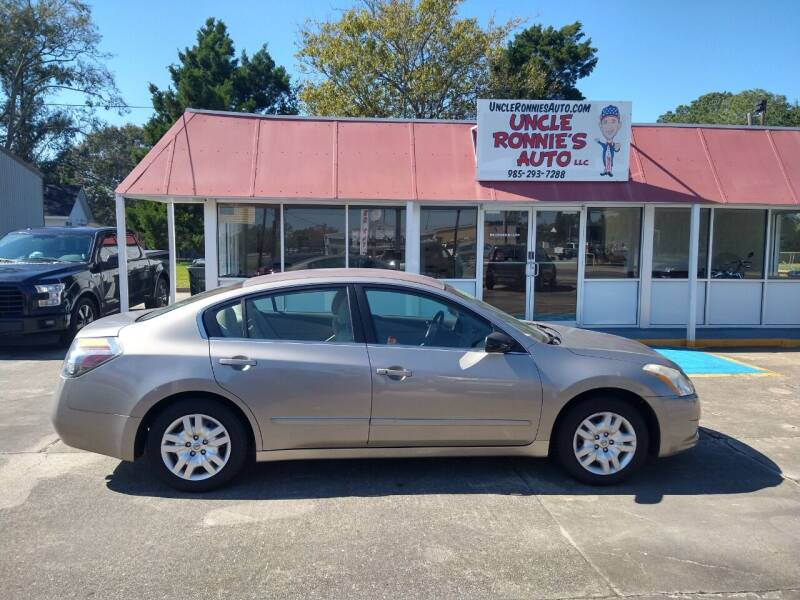 2012 Nissan Altima for sale at Uncle Ronnie's Auto LLC in Houma LA