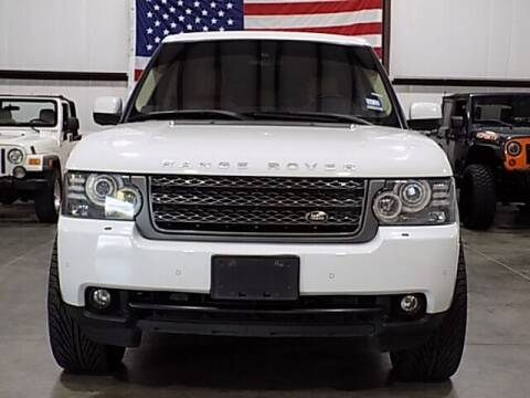 2011 Land Rover Range Rover for sale at Texas Motor Sport in Houston TX