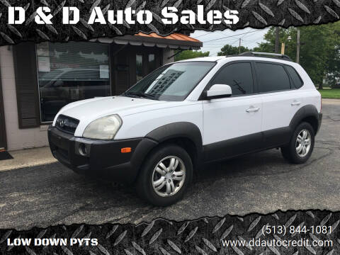2007 Hyundai Tucson for sale at D & D Auto Sales in Hamilton OH