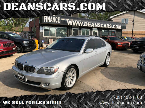 2006 BMW 7 Series for sale at DEANSCARS.COM in Bridgeview IL