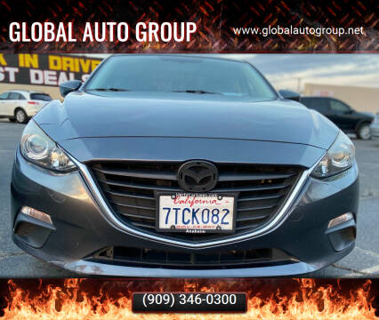 2016 Mazda MAZDA3 for sale at Global Auto Group in Fontana CA