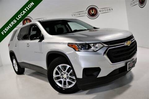 2018 Chevrolet Traverse for sale at Unlimited Motors in Fishers IN