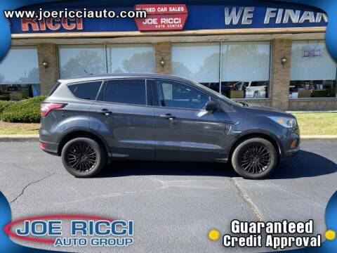 2017 Ford Escape for sale at JOE RICCI AUTOMOTIVE in Clinton Township MI