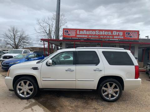 2010 Cadillac Escalade for sale at LA Auto Sales in Monroe LA