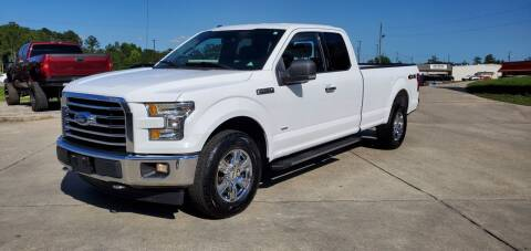 2017 Ford F-150 for sale at WHOLESALE AUTO GROUP in Mobile AL