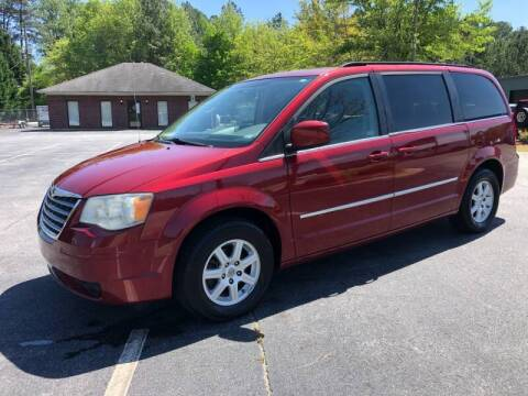2010 Chrysler Town and Country for sale at GTO United Auto Sales LLC in Lawrenceville GA