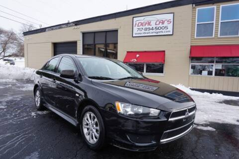 2013 Mitsubishi Lancer for sale at I-Deal Cars LLC in York PA