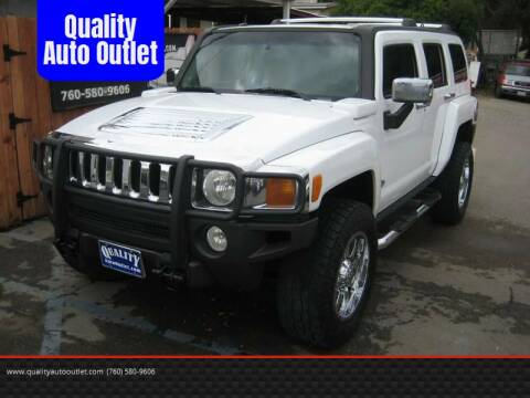 2006 HUMMER H3 for sale at Quality Auto Outlet in Vista CA