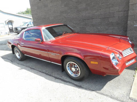1978 Chevrolet Camaro for sale at Sleepy Hollow Motors in New Eagle PA