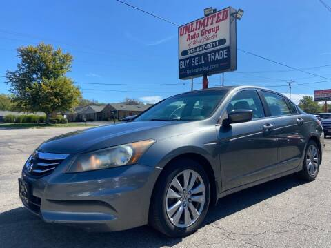 2011 Honda Accord for sale at Unlimited Auto Group in West Chester OH